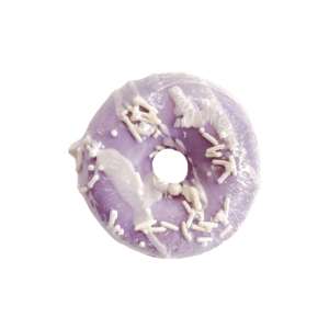 Crystal Donut Soap - Passionfruit Rose Honey