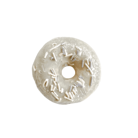 Crystal Donut Soap - Vanilla Hazelnut Toffee