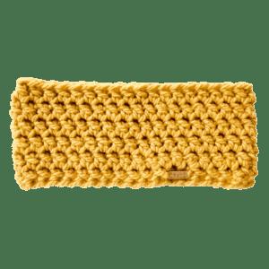 Goldencrisp Yellow Anderson Ear Warmer Crochet Salem Style
