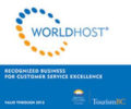 WorldHost Recognized Business