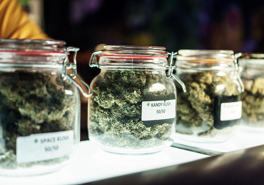 marijuana dispensary selling legal marijuana