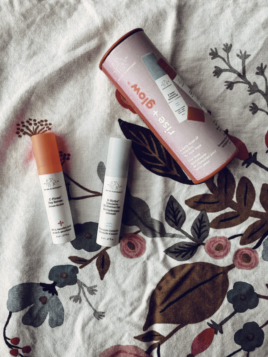 Drunk Elephant Rise + Glow Duo Review