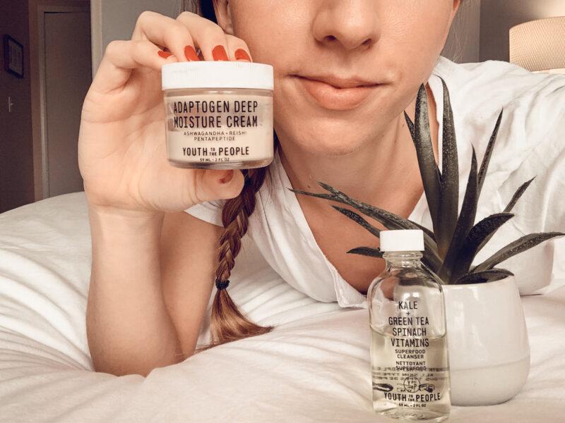 Youth to the People Adaptogen Deep Moisture Cream Vegan Skin Care
