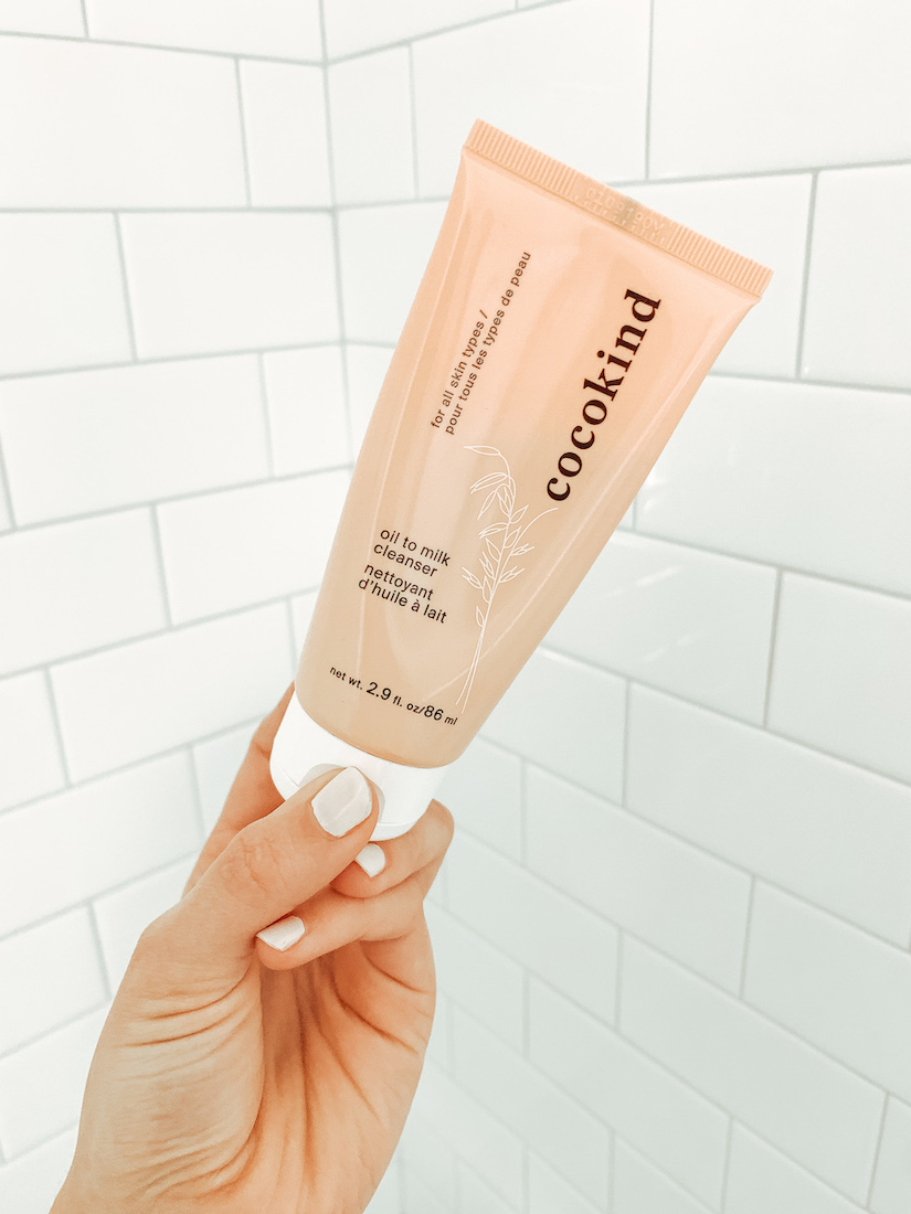 Non-Foaming Cleansers Cocokind Oil to Milk Cleanser