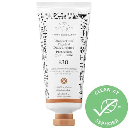 Mineral vs. Chemical Sunscreen mineral drunk elephant umbra tinte