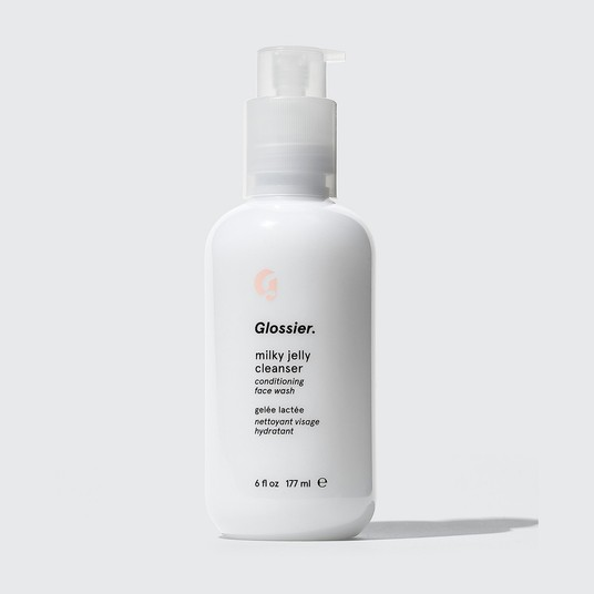 Budget-Friendly Skincare Routine Glossier Milky Jelly Cleanser