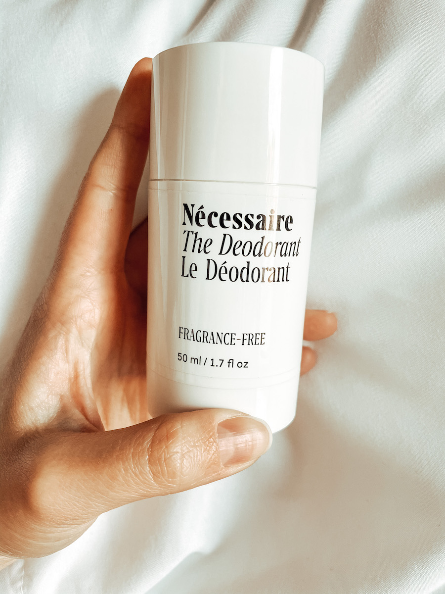 Necessaire Review Deodorant
