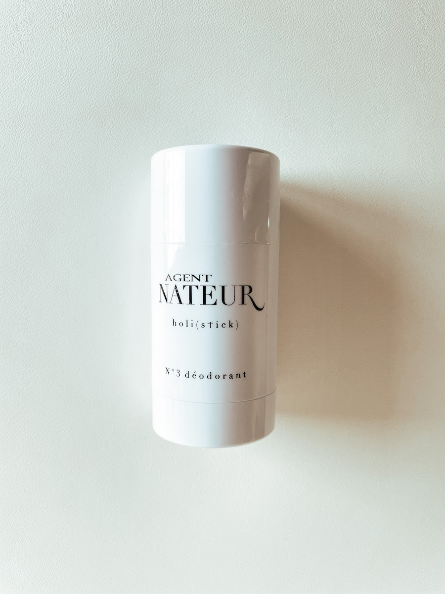 Agent Nateur Holistick No. 3 natural deodorant review