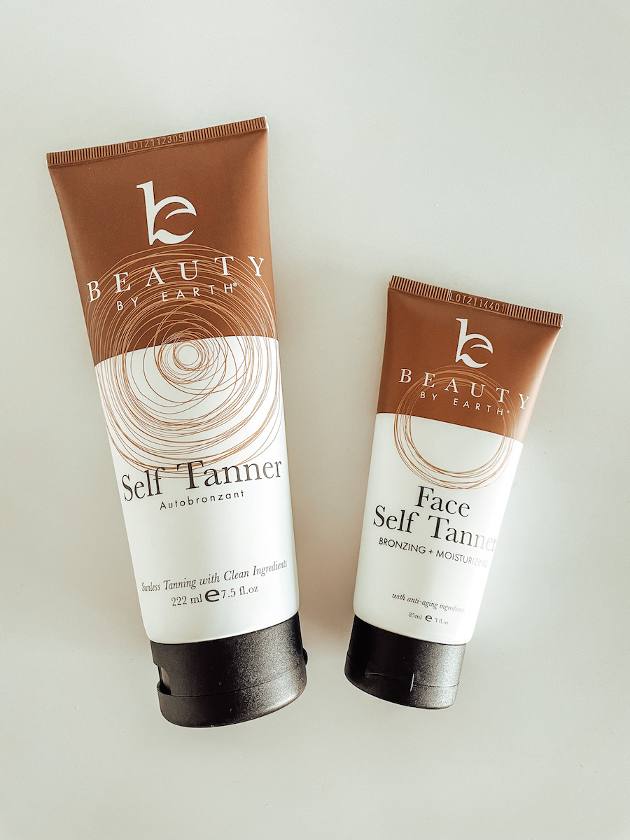 best clean self tanners Beauty by Earth review