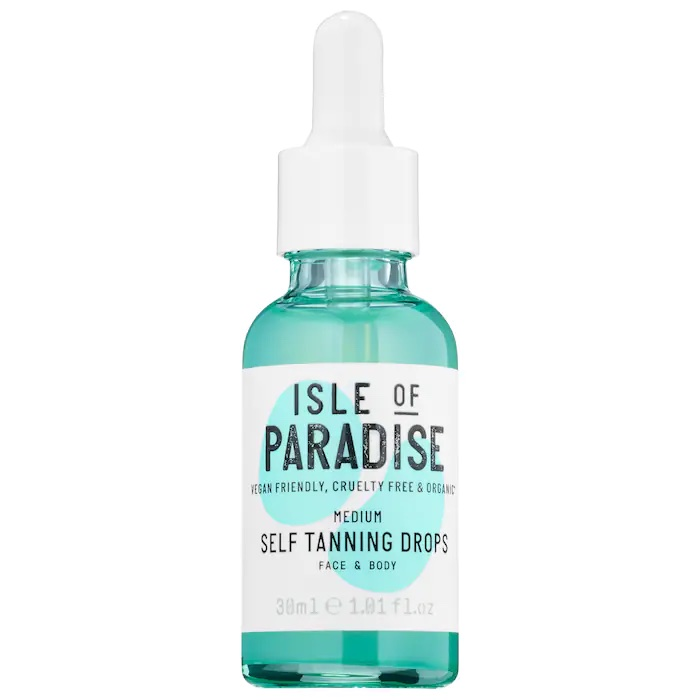 best clean self tanners Isle of Paradise review
