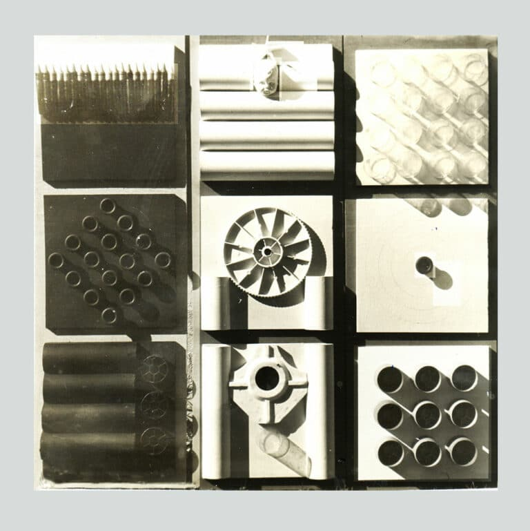 איקס, מיקס דריקס, 1968, רדי מייד וצבע תעשייתי, 120 על 120 ס''מ [בית האמנים, תל אביב]