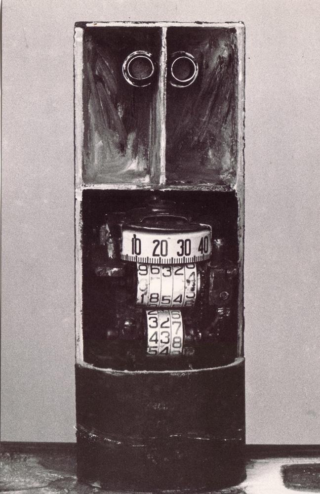 מיניאטורה, 1968, רדי מייד, 20 על 8 ס''מ [הופיע בתערוכת מיניאטורות, גלריה גורדון, תל אביב]