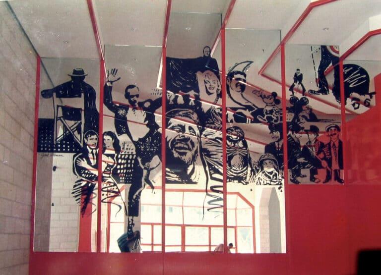צריבת מראה, מסך הכסף, תולדות הקולנוע הישראלי, 1989