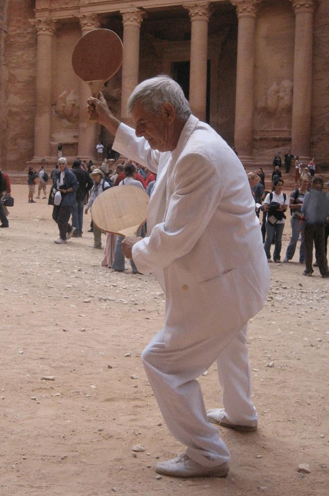פטרה,2008, תצלום דומם מתוך מיצג, ירדן