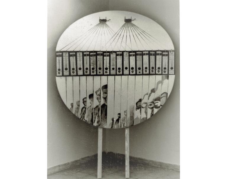 """,העתקת ארכיון """"הארץ"""" 1971, מוזיאון עירוני, רמת גן"""
