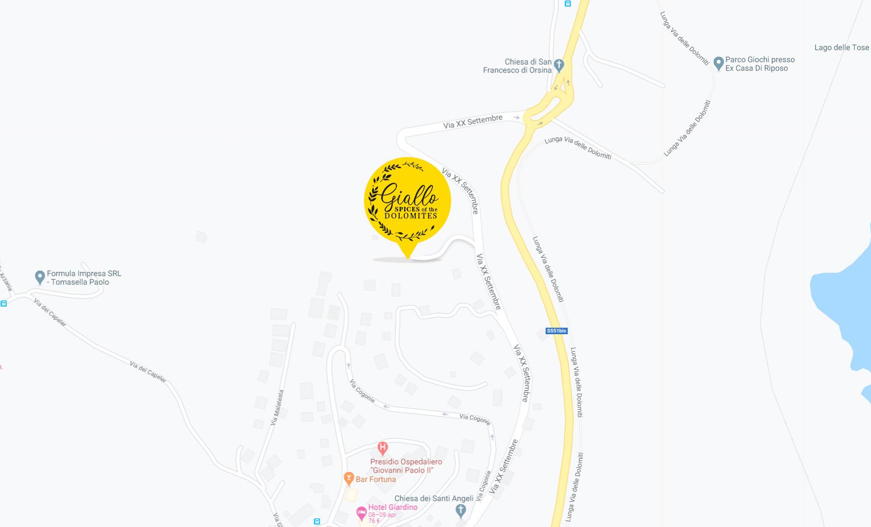 mappa giallo