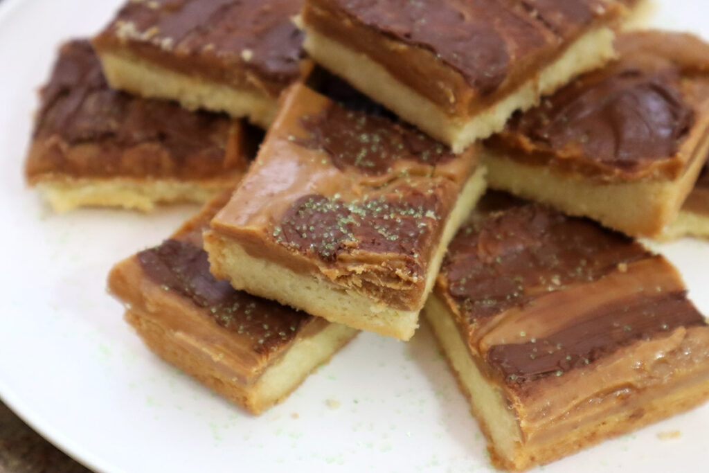 Shortbread Toffee Cookies