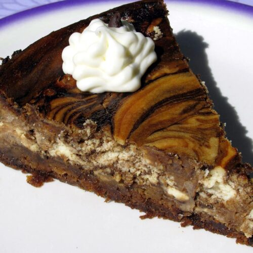 Amazing Root Beer Cheesecake that Tastes like an Incredible Frosty Root Beer Float
