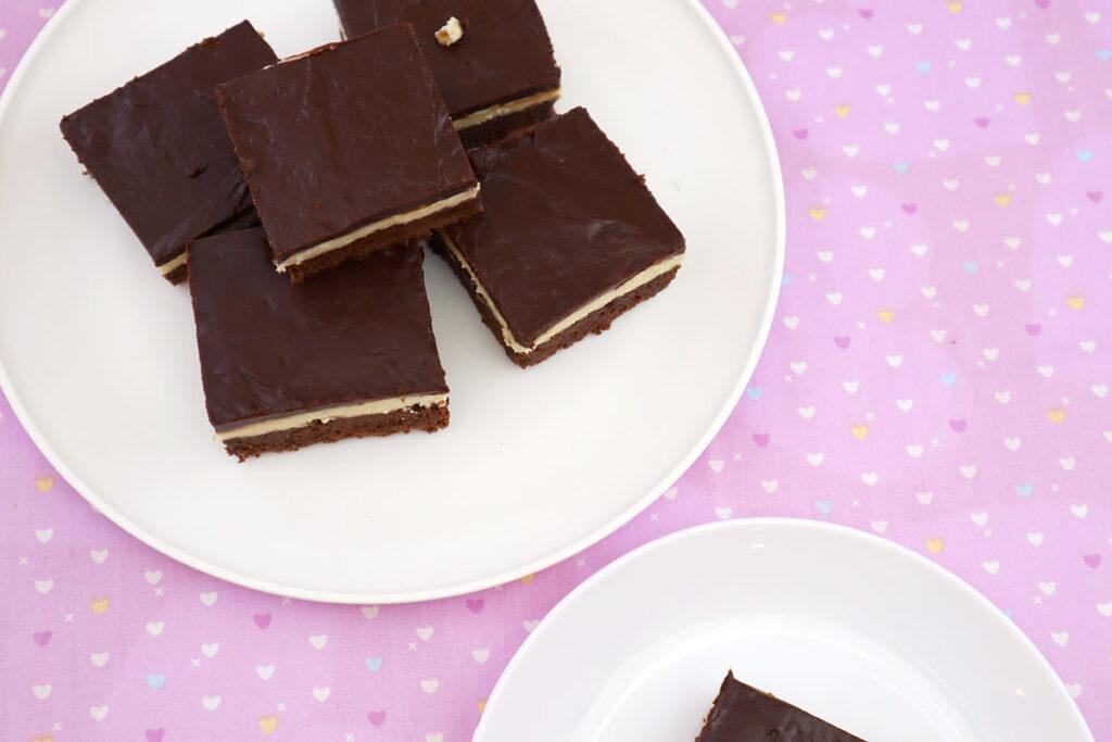 Fresh Mint Brownies