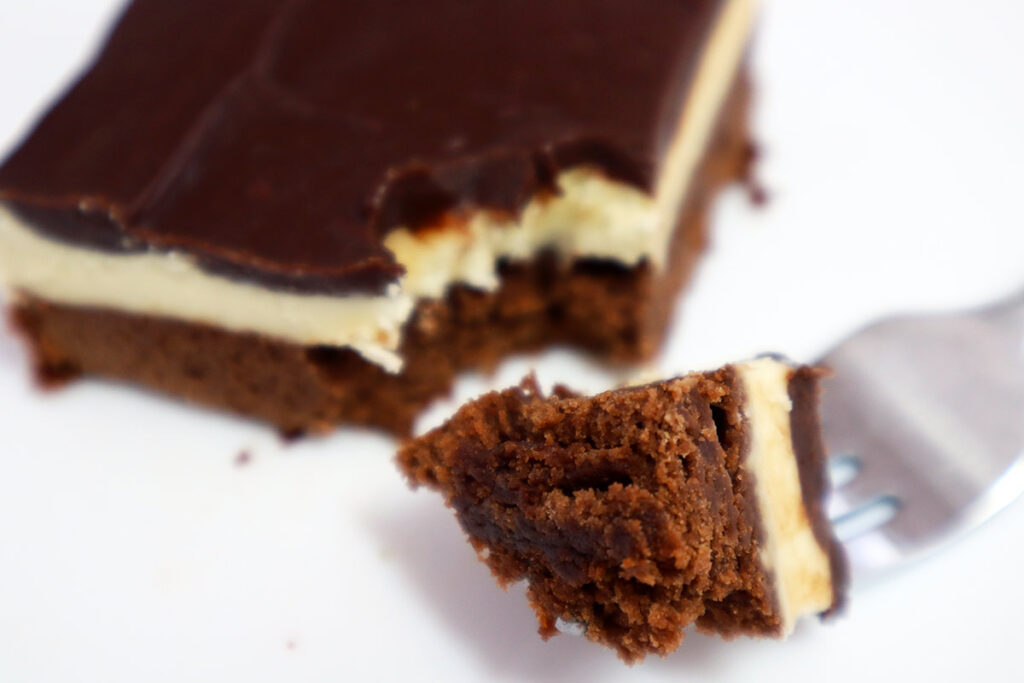 Flawless Mint Frosting for Brownies