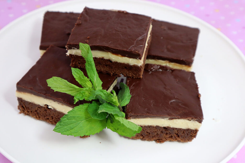 Brownies with Mint