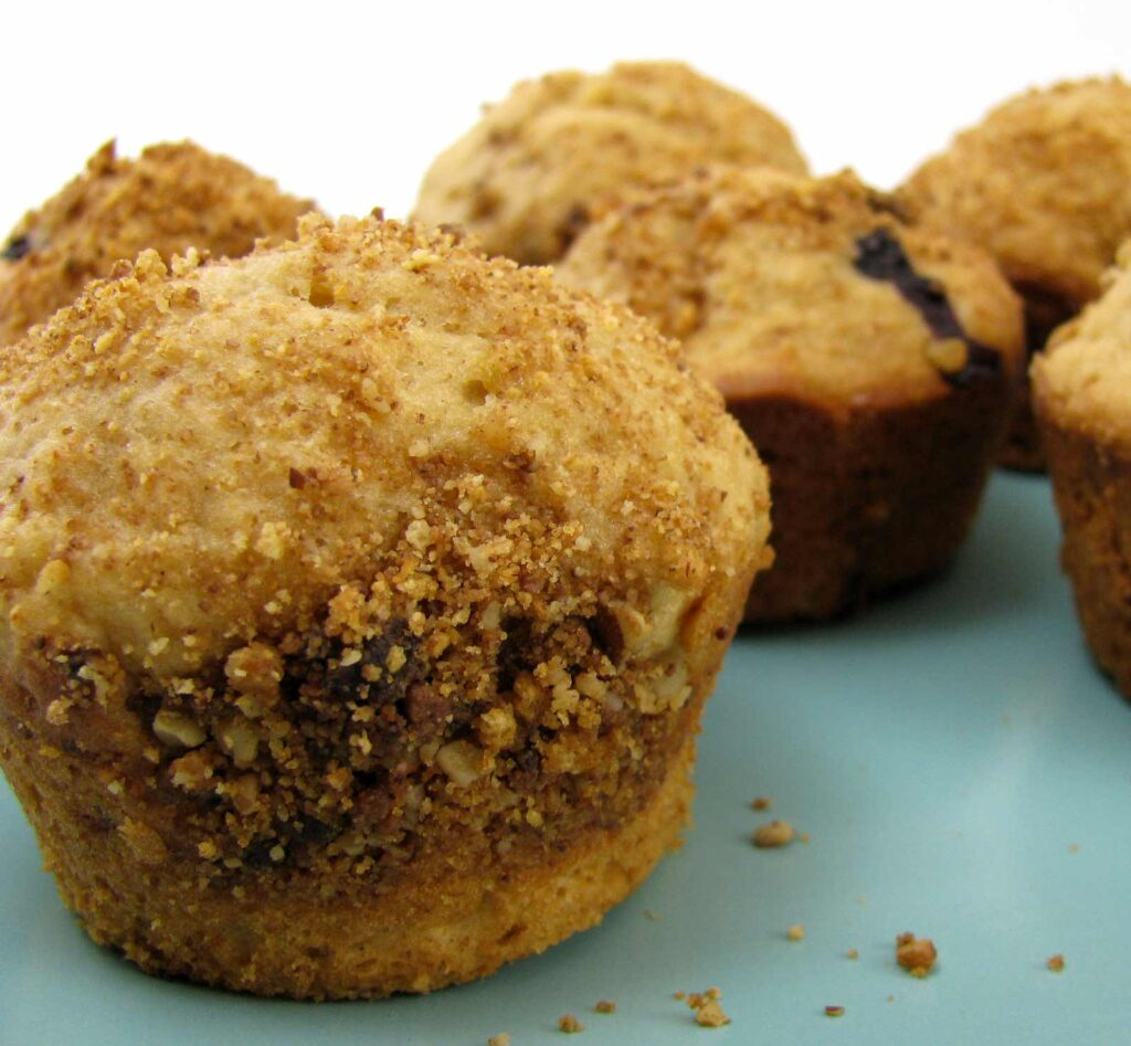 Banana and Blueberry Muffins are A Perfect One Bowl Breakfast You'll Love