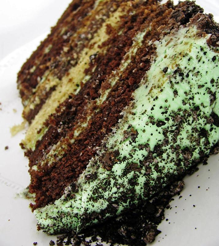 Oreo Cake with Mint