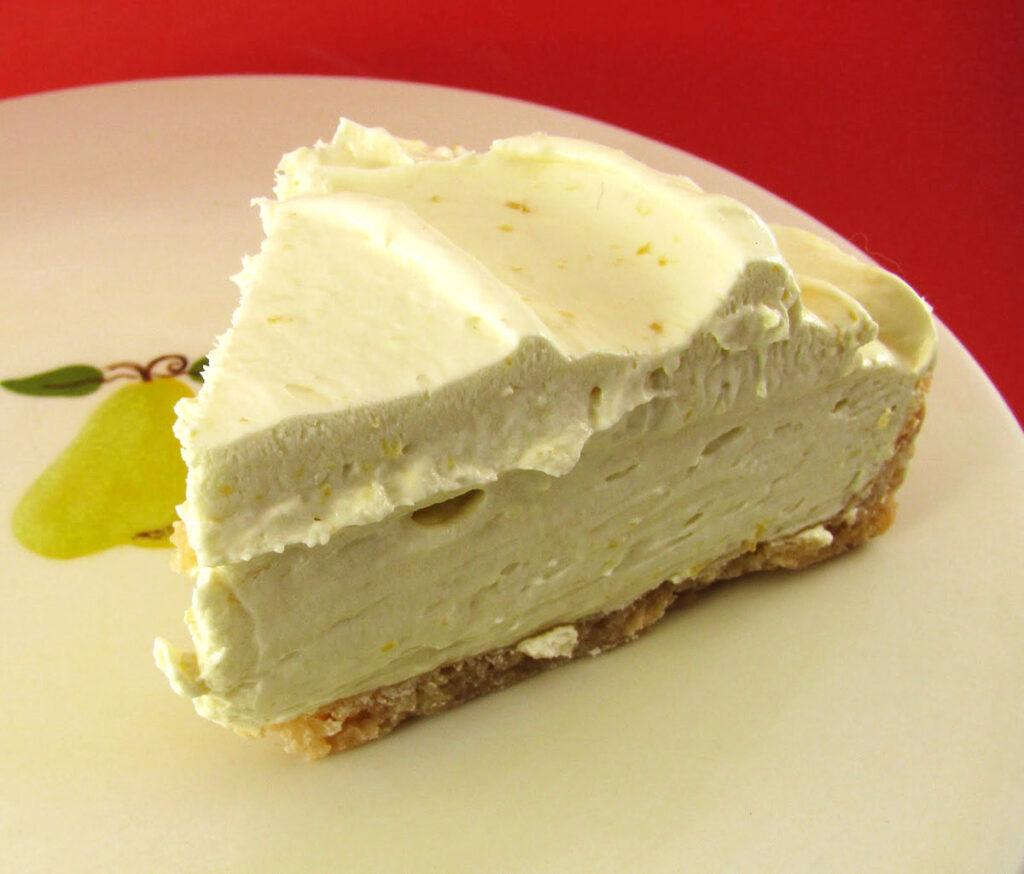 Slice of Easy Lemon Tart