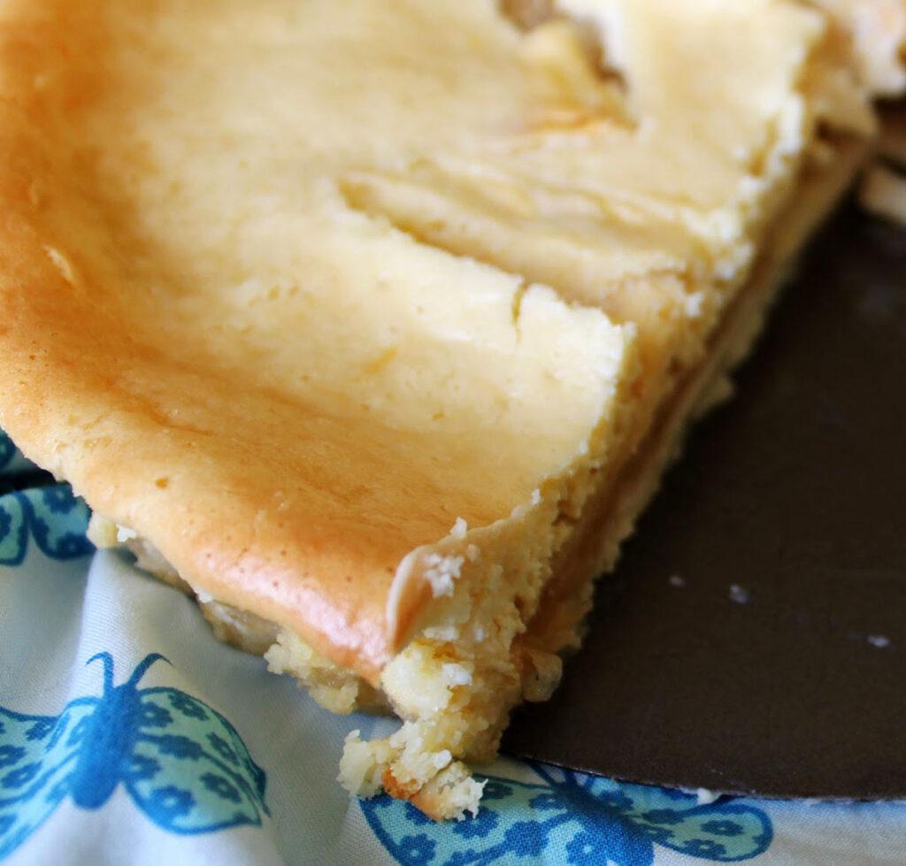 Inside Apple Cream Cake