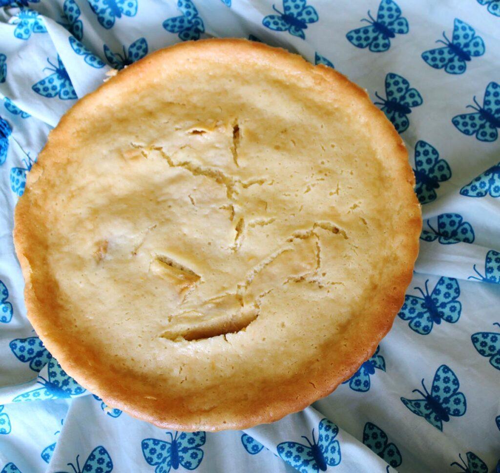 recipe apple cream cake