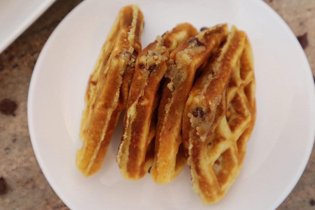 Cookie Dough Waffles