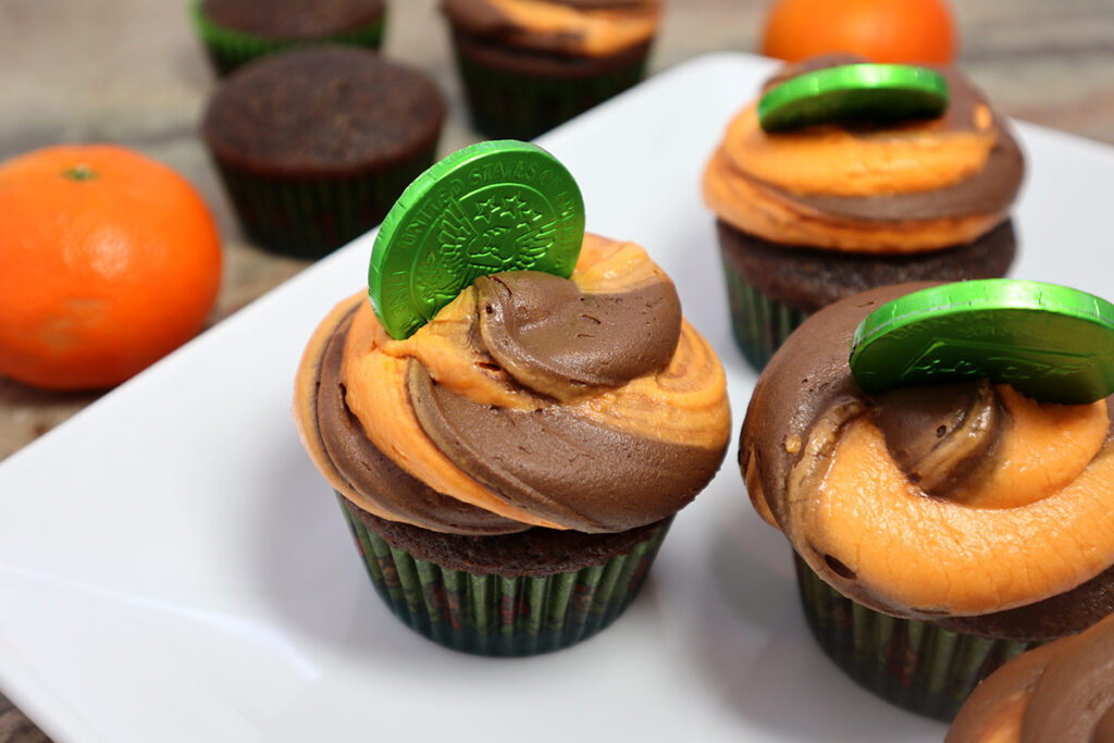 Chocolate Cupcake Close up