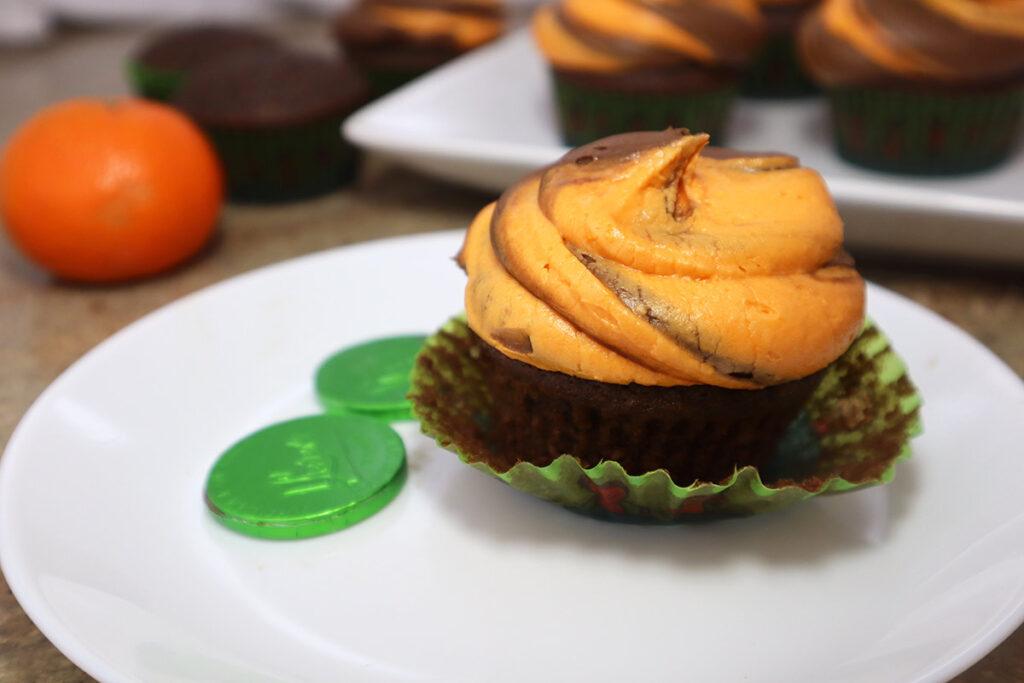 Recipe Photo Orange Chocolate Cupcakes