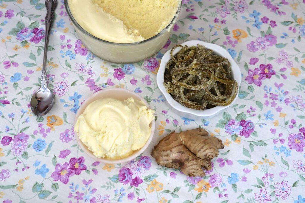 Recipe Ginger Ice Cream