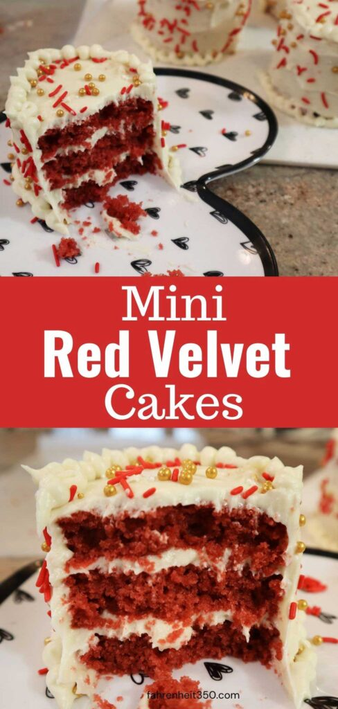 Cute Mini Red Velvet Cakes Mean More of the Frosting You Love