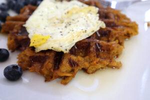 Sweet Potato Waffles Paleo