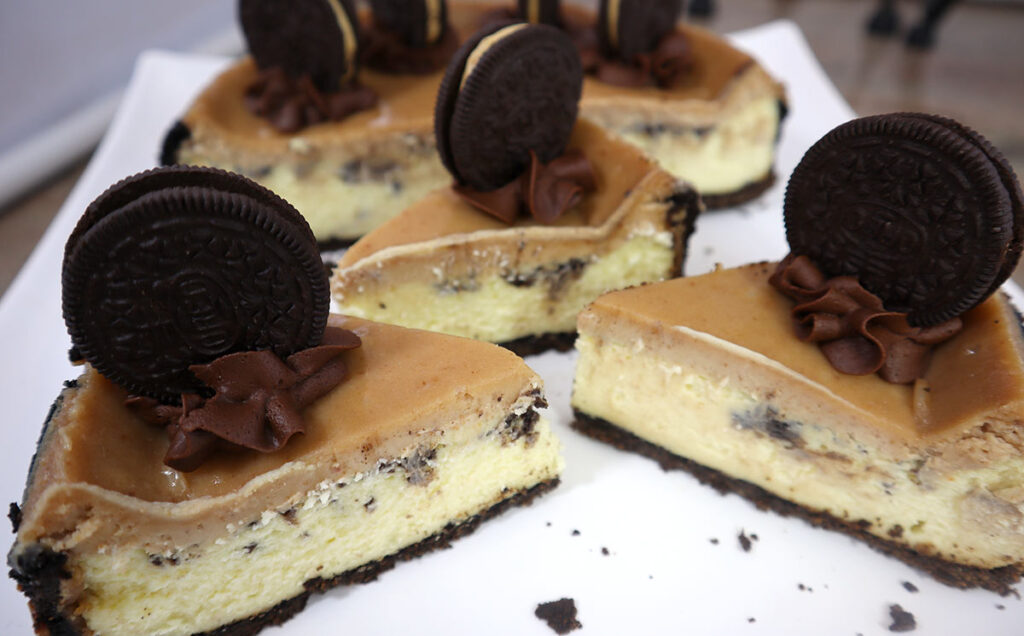 Perfect Slices of Cheesecake