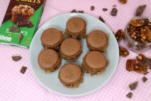 Cover Photo of German Chocolate Macarons