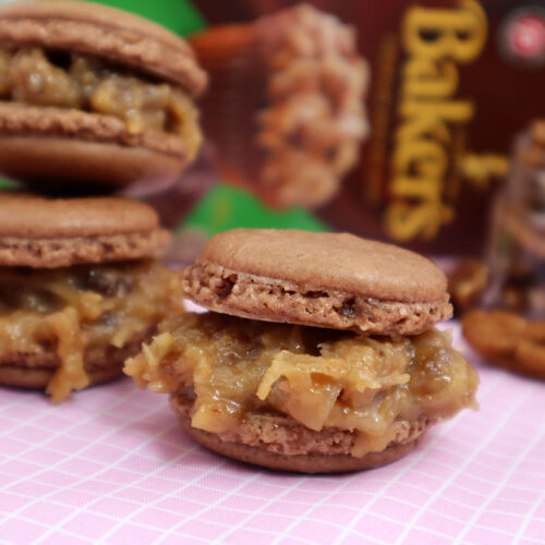The Next Best Thing to Cake: German Chocolate Macarons Recipe