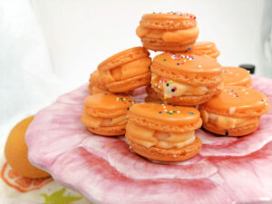 Make Summer Even Better with Super Sweet Orange Macarons Cover