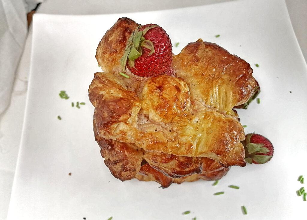 Recipe Photo of Strawberry Cream Cheese Croissants