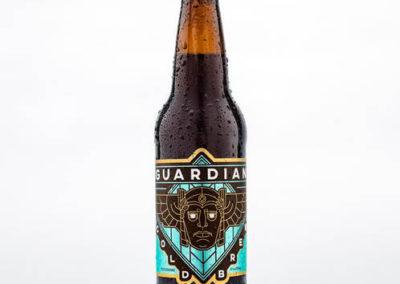Guardian Cold Brew Beer Bottle Label