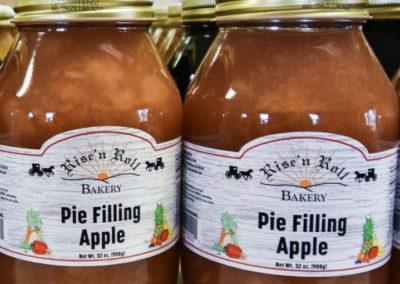 Rise'n Roll Bakery Food Jar Label