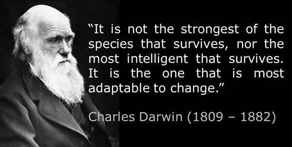 Quote from Charles Darwin