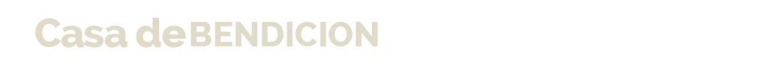 Casa De Bendicion SOYCDB Logo