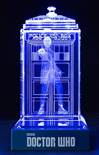 Doctor Who Crystal TARDIS (Peter Capaldi) Officially Licensed