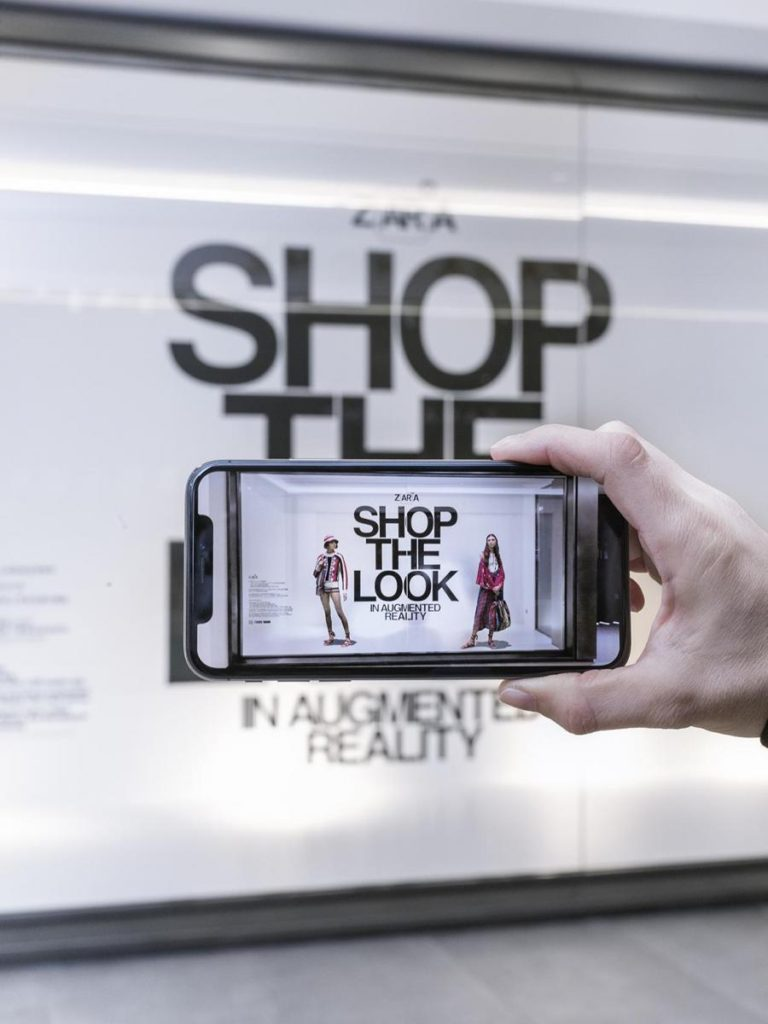 The New Age Store Experience - Zara launch an augmented reality app for in-store shoppers