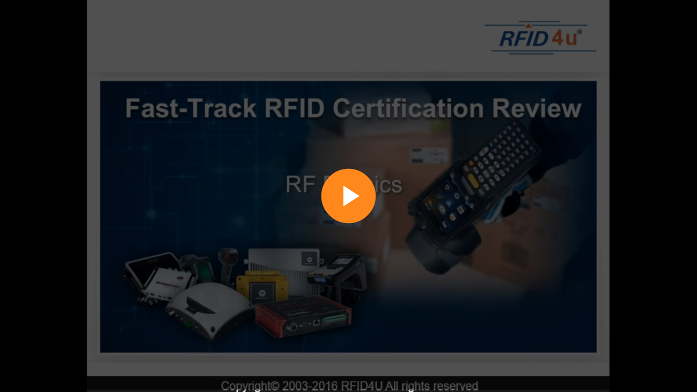 RFID Module 1 Video 2 – RF Physics