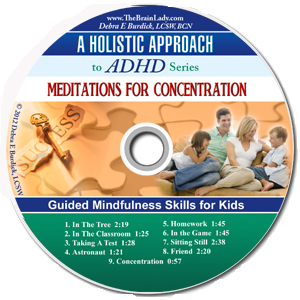 Meditations for Concentration CD