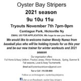 2021 Oyster Bay Stipers Tryouts